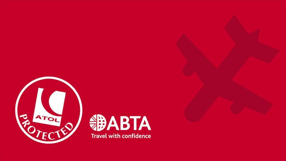 ABTA ATOL accredations