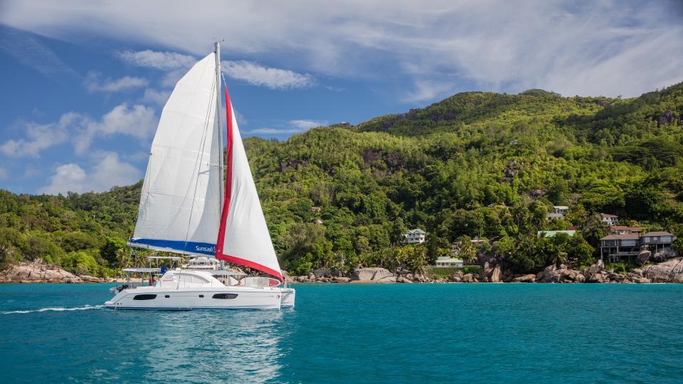 Seychelles sailing