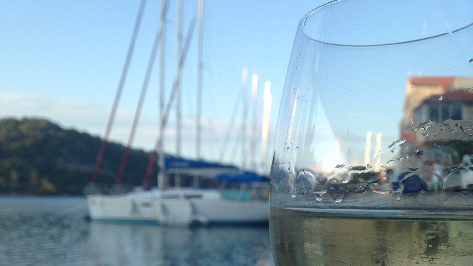 Wine and sail