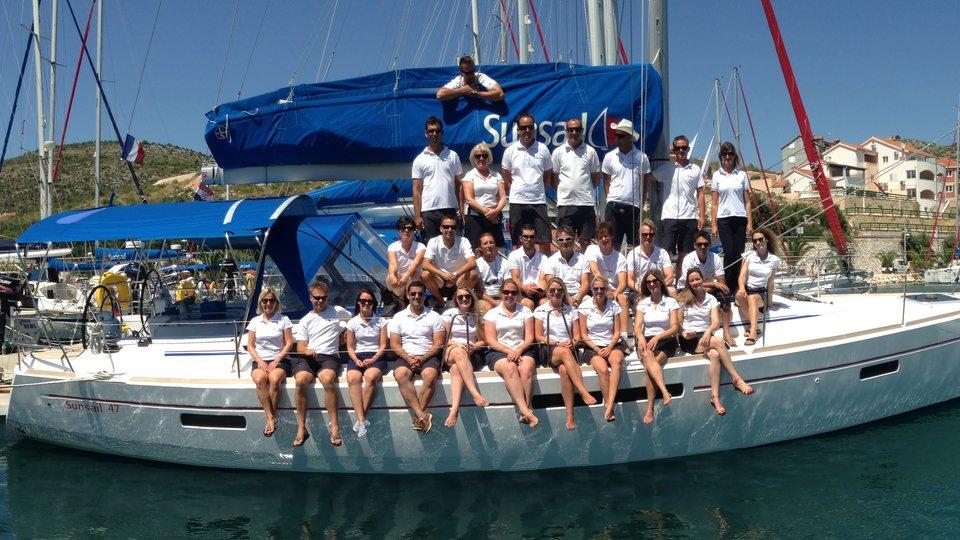 Sunsail team