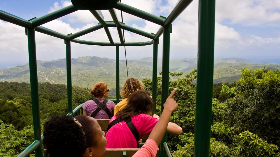 St Lucia Arial Tram