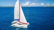 Virgin Gorda - Sunsail 454 sailing
