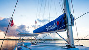 sunsail bareboat on sea
