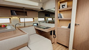 Sunsail 51 galley