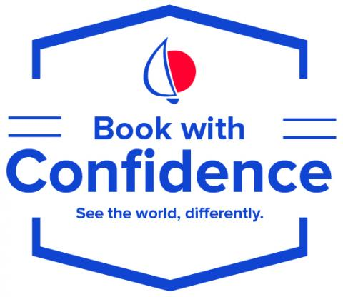 Book with Confidence badge