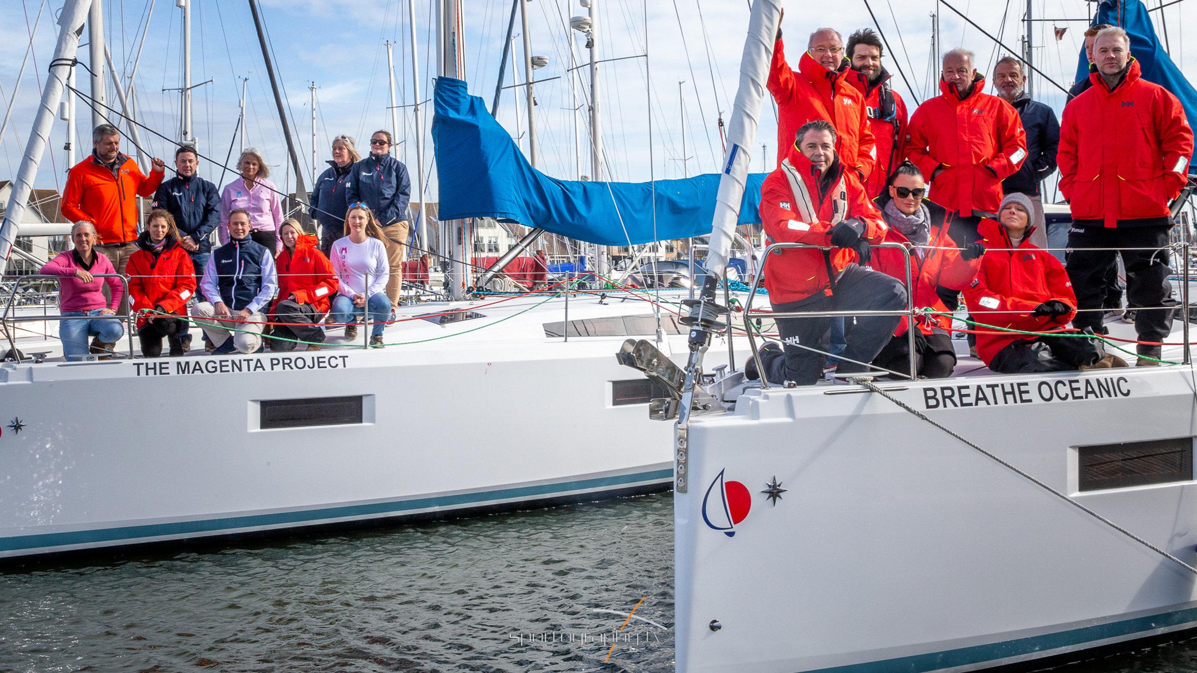 Magenta Project Sunsail 41.0 Yacht