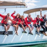 sailors training on sunsail 41.0 monohull